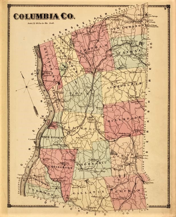 Columbia County free genealogy resources